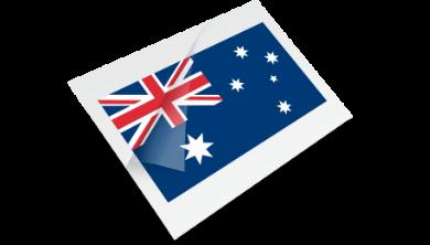 Australian Flag Temporary Tattoo