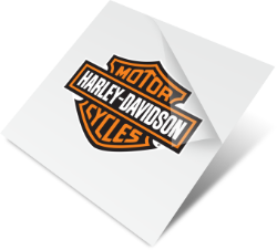 Harley Davidson Custom Temporary Tattoo