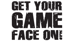 Get Your Game Face On! Custom Temporary Tattoo