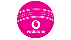 Vodafone Pink Cricket Ball Custom Temporary Tattoo