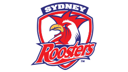 Sydney Roosters Custom Temporary Tattoo