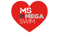 Multiple Schlerosis MS 24 Hour Mega Swin Custom Temporary Tattoo