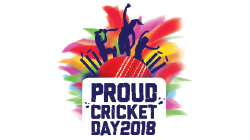 Proud Cricket Day 2018 Custom Temporary Tattoo