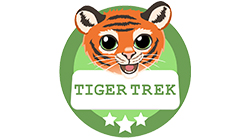 Tiger Trek Custom Temporary Tattoo