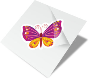 Butterfly Custom Personal Use Temporary Tattoo